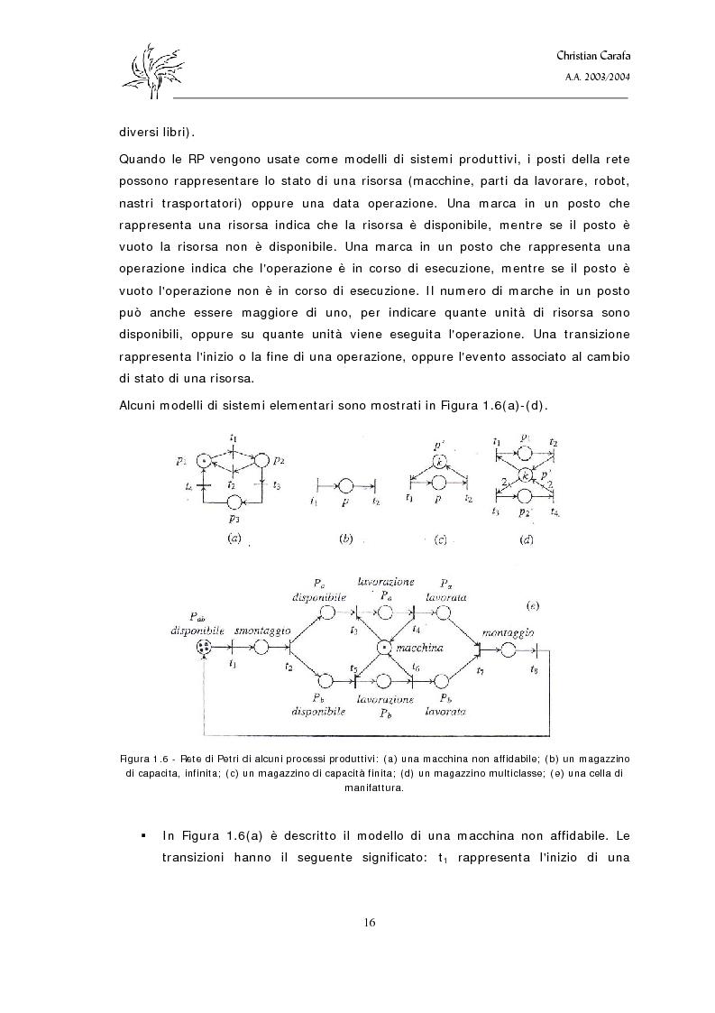 Anteprima della tesi: Analisi e confronto dei software di simulazione di Reti di Petri, Pagina 12