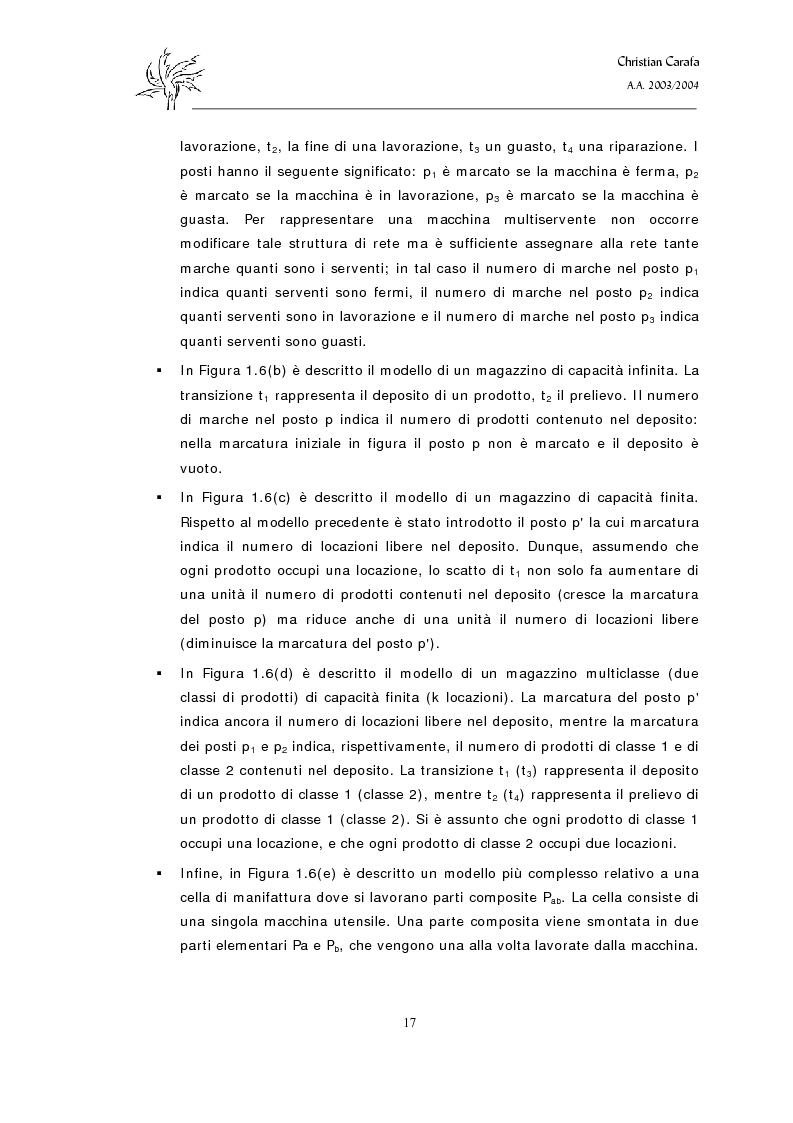 Anteprima della tesi: Analisi e confronto dei software di simulazione di Reti di Petri, Pagina 13