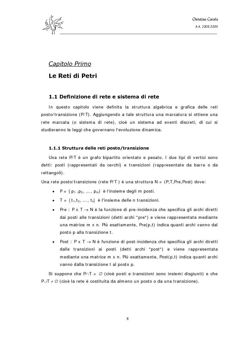 Anteprima della tesi: Analisi e confronto dei software di simulazione di Reti di Petri, Pagina 4