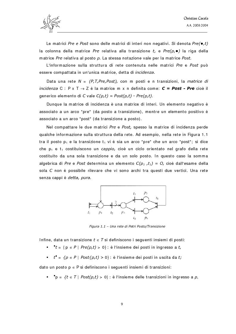 Anteprima della tesi: Analisi e confronto dei software di simulazione di Reti di Petri, Pagina 5