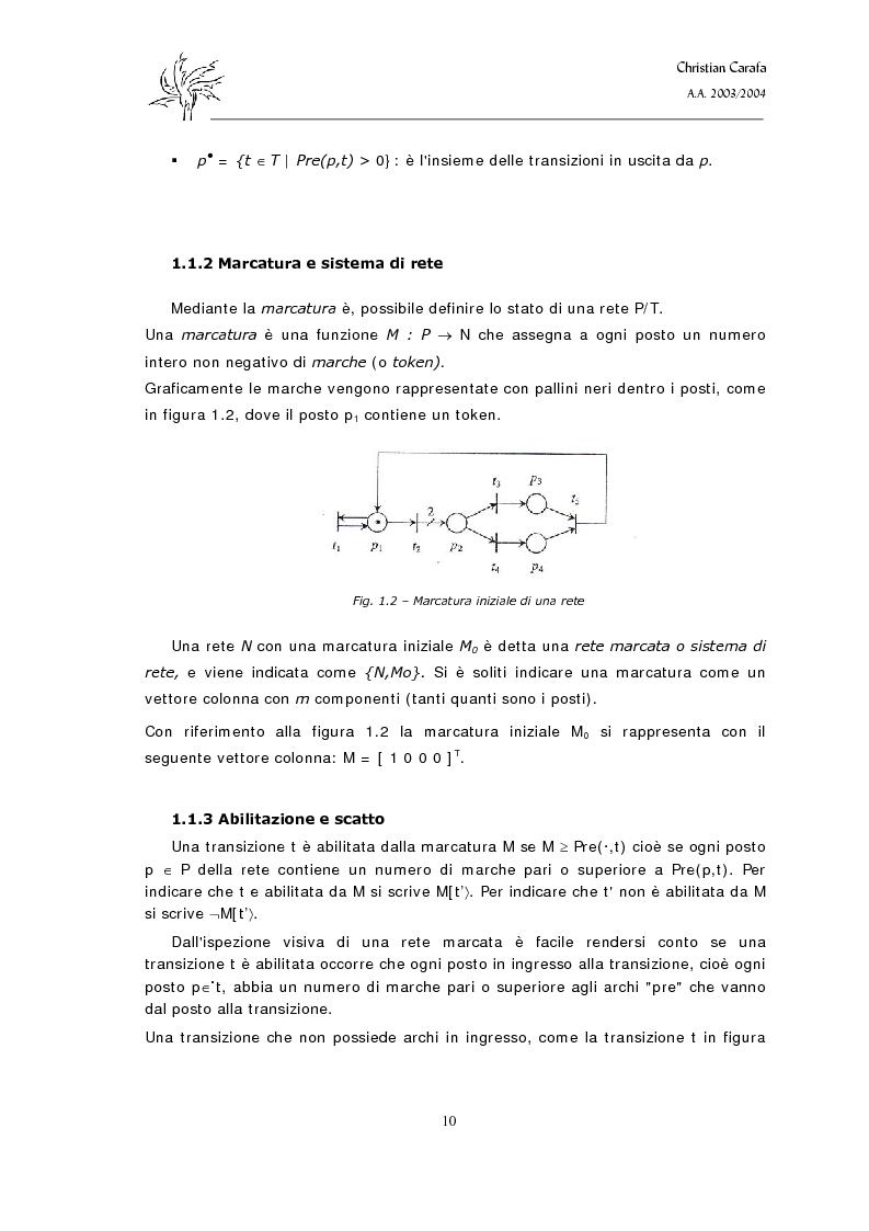 Anteprima della tesi: Analisi e confronto dei software di simulazione di Reti di Petri, Pagina 6