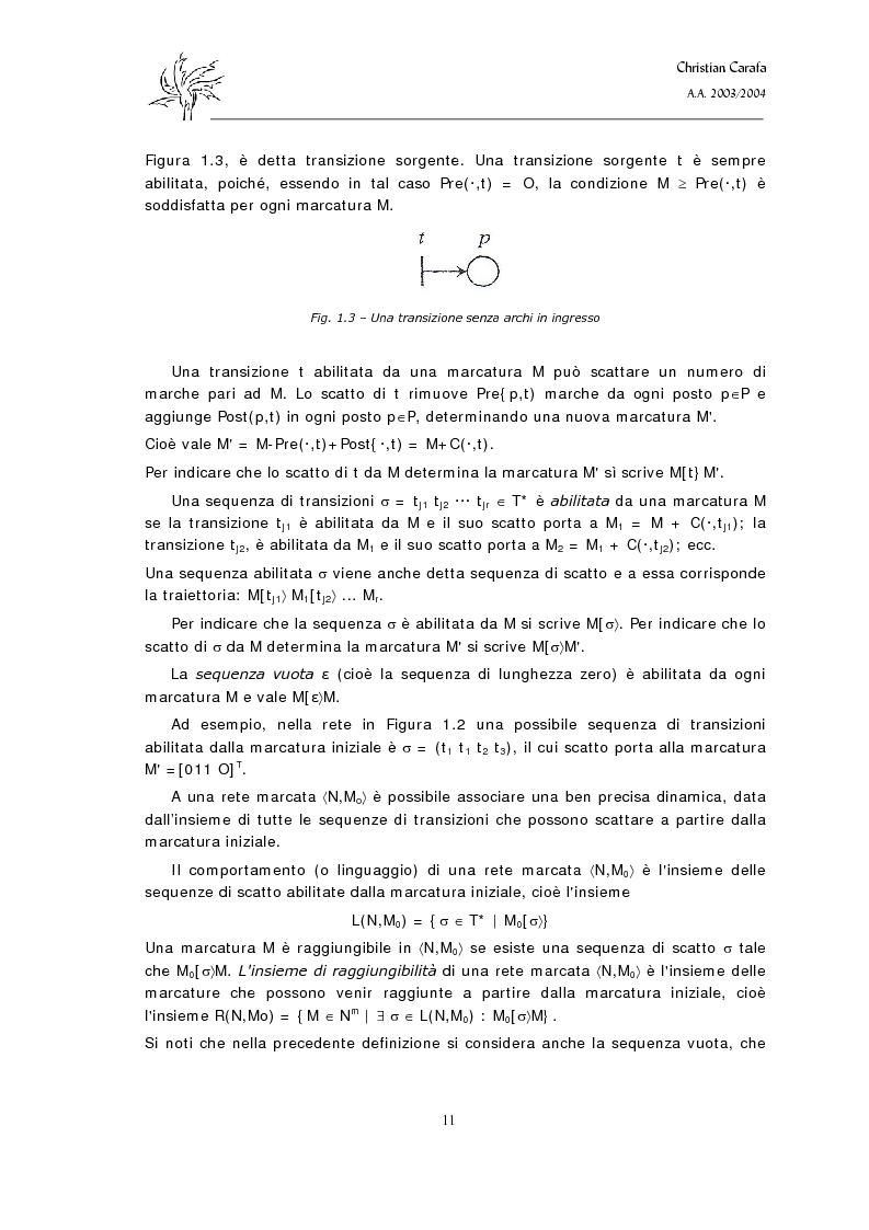 Anteprima della tesi: Analisi e confronto dei software di simulazione di Reti di Petri, Pagina 7