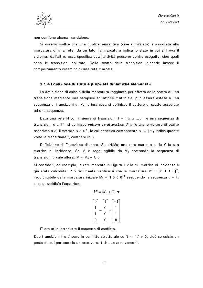 Anteprima della tesi: Analisi e confronto dei software di simulazione di Reti di Petri, Pagina 8