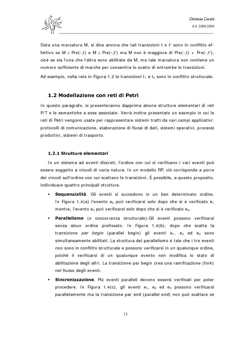 Anteprima della tesi: Analisi e confronto dei software di simulazione di Reti di Petri, Pagina 9