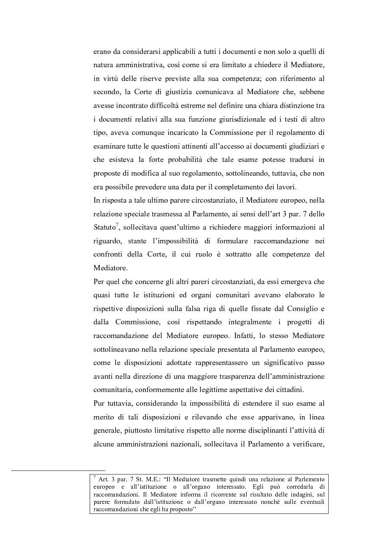 Anteprima della tesi: Il Mediatore Europeo, Pagina 11