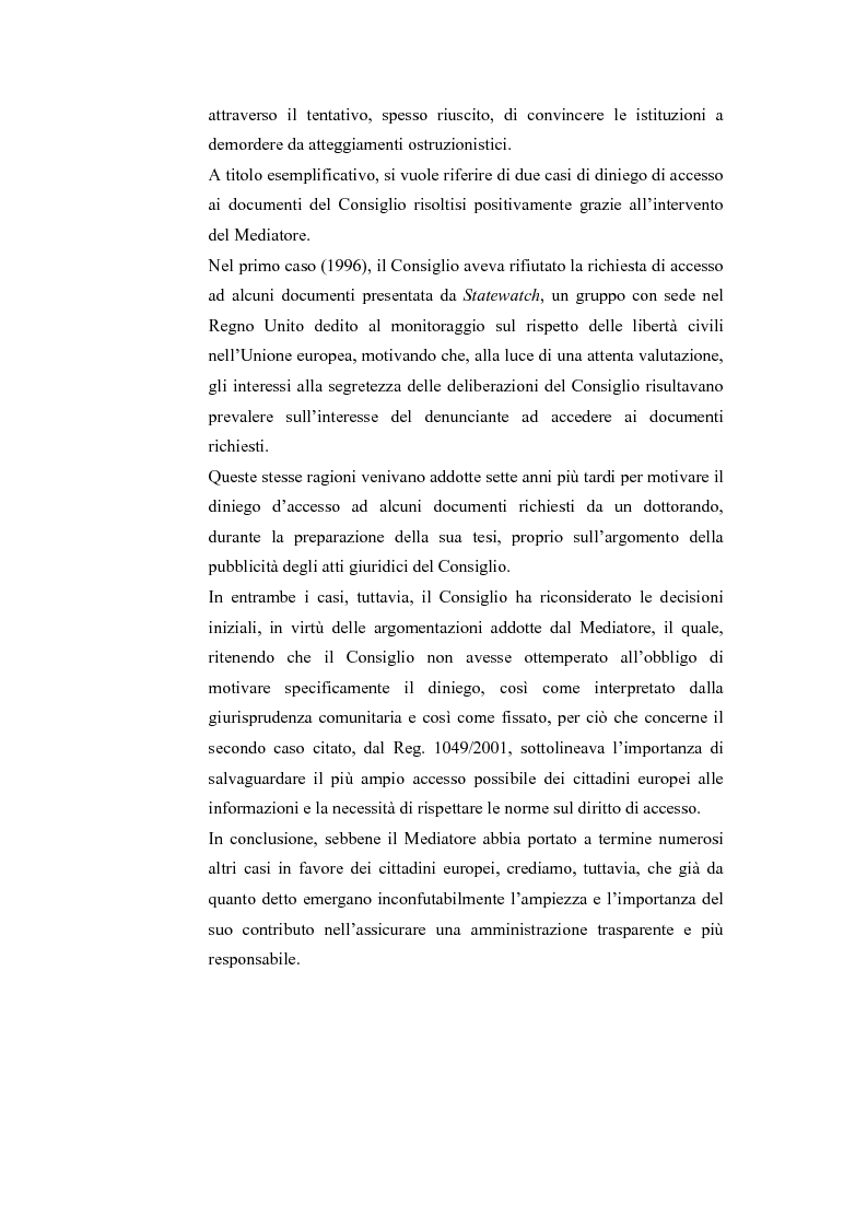 Anteprima della tesi: Il Mediatore Europeo, Pagina 13