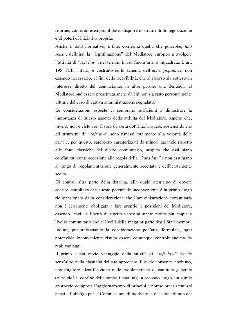 Anteprima della tesi: Il Mediatore Europeo, Pagina 3