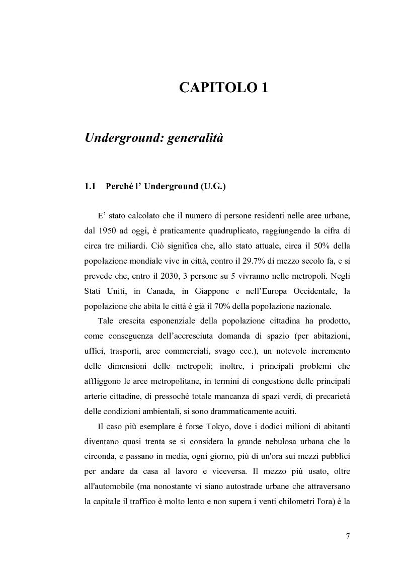 Anteprima della tesi: Tecnologie e Metodologie per la Sicurezza negli Spazi Underground, Pagina 2