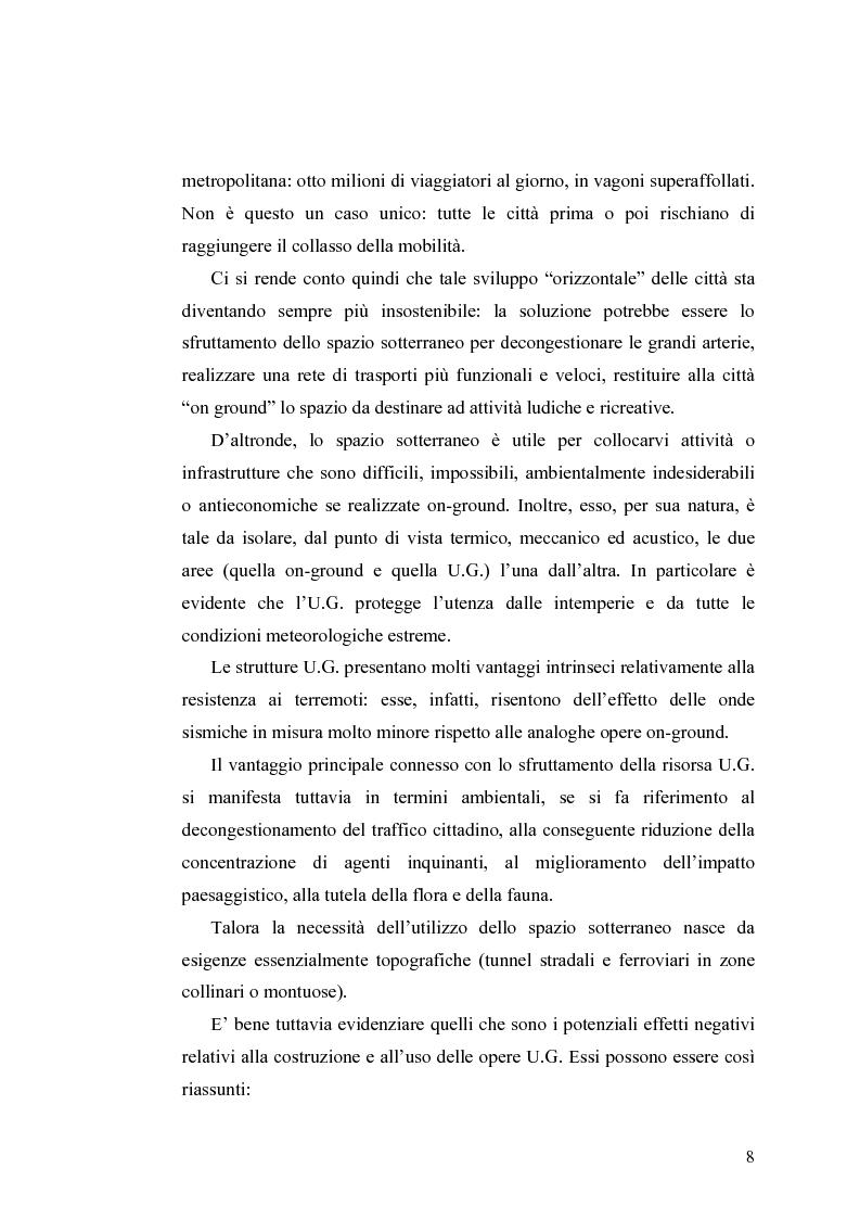 Anteprima della tesi: Tecnologie e Metodologie per la Sicurezza negli Spazi Underground, Pagina 3