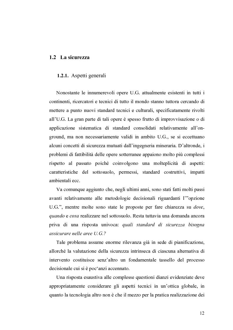 Anteprima della tesi: Tecnologie e Metodologie per la Sicurezza negli Spazi Underground, Pagina 7