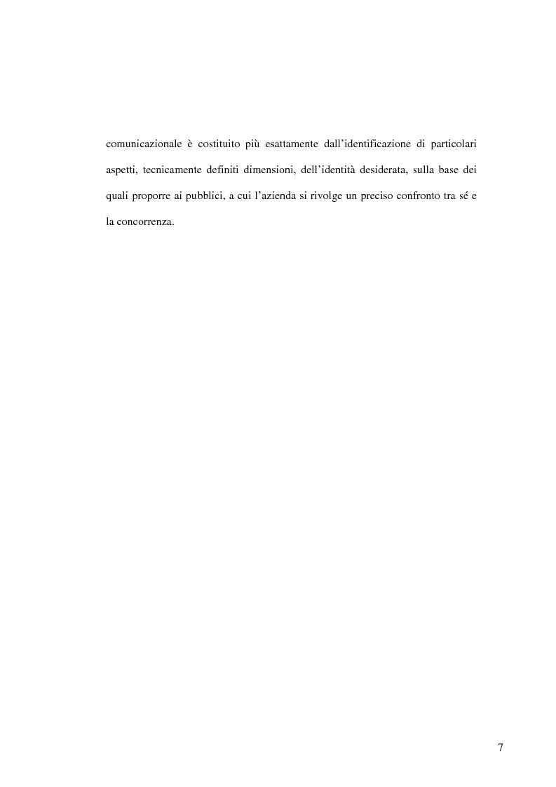 Anteprima della tesi: La banca e la comunicazione pubblicitaria. Caso aziendale: Monte dei Paschi di Siena S.p.a., Pagina 3