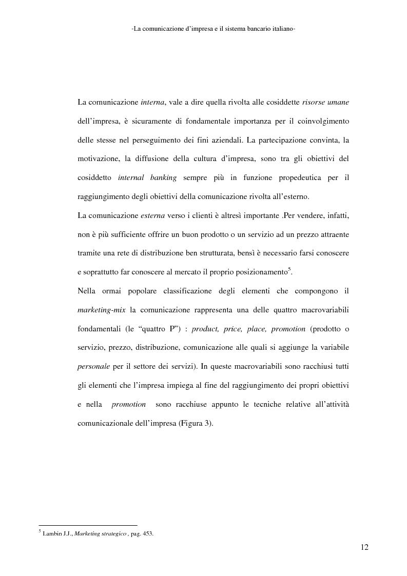 Anteprima della tesi: La banca e la comunicazione pubblicitaria. Caso aziendale: Monte dei Paschi di Siena S.p.a., Pagina 8