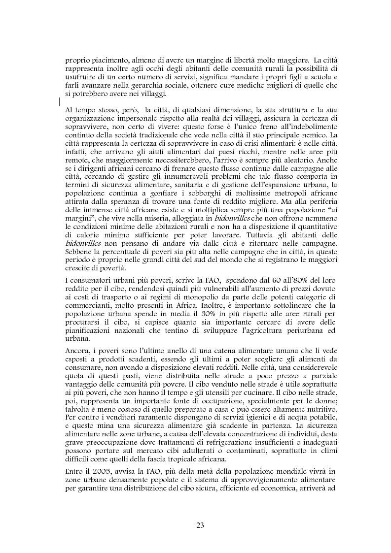 Anteprima della tesi: Studio di realizzazione e fattibilità di un microprogetto di sviluppo agricolo. Il caso di Tabagne, Costa d'Avorio, Pagina 13