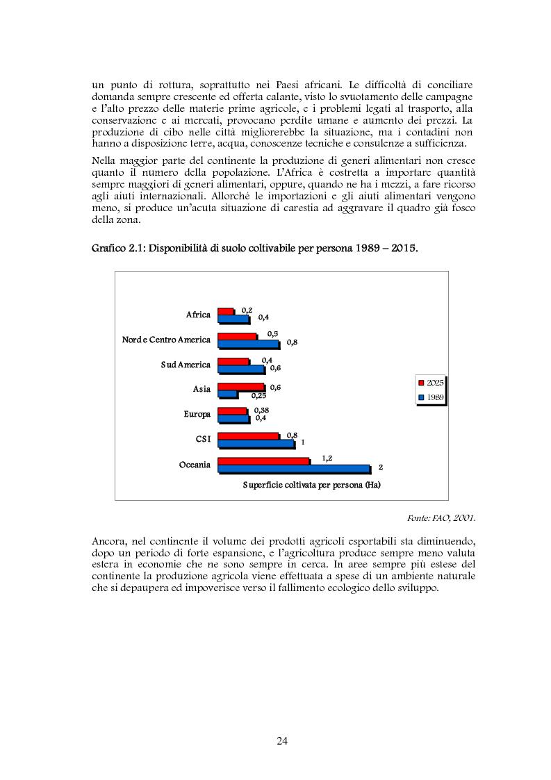 Anteprima della tesi: Studio di realizzazione e fattibilità di un microprogetto di sviluppo agricolo. Il caso di Tabagne, Costa d'Avorio, Pagina 14