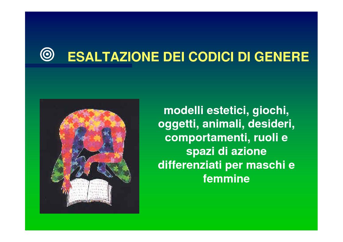 Anteprima della tesi: Genere e socializzazione scolastica. Una ricerca sulla rappresentazione dei modelli sessuali nei libri di testo per la scuola elementare, Pagina 14