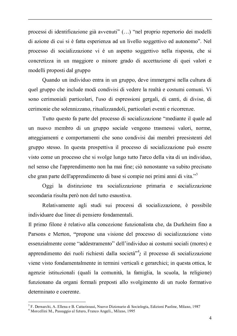 Anteprima della tesi: Il Karate: aspetti sociali, educativi e culturali, Pagina 4
