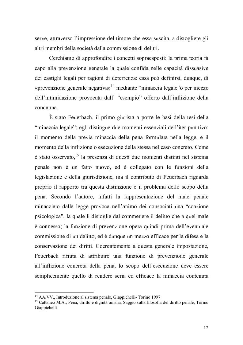 Anteprima della tesi: Il principio di effettività della pena e la sua crisi, Pagina 10