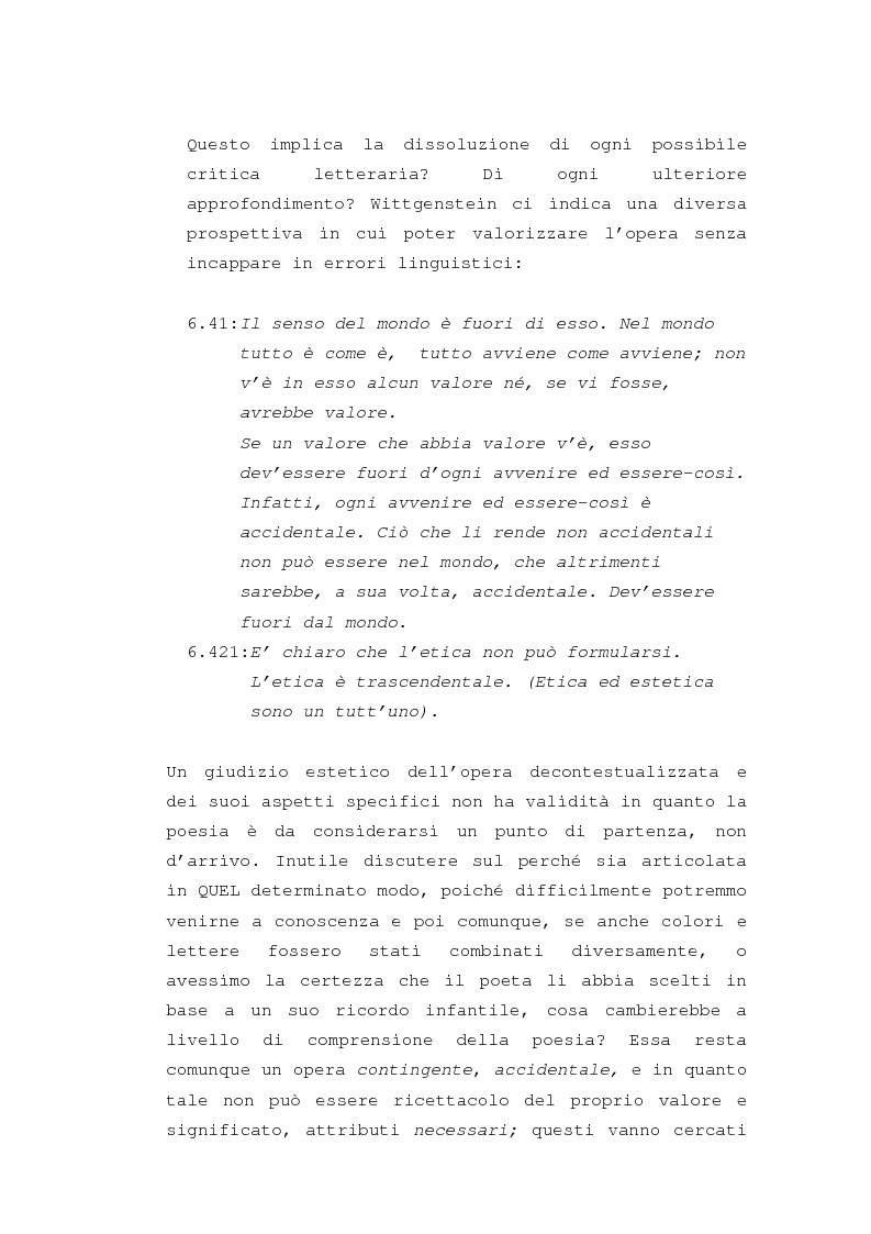"""Anteprima della tesi: Il """"dereglement"""" della simbolizzazione: interpretazione analitica della poesia Le Vocali di Rimbaud, Pagina 9"""