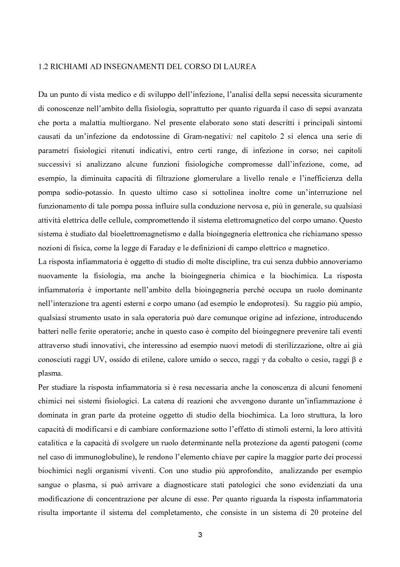 Anteprima della tesi: Il toraymyxin, metodo innovativo per il trattamento della sepsi, Pagina 3