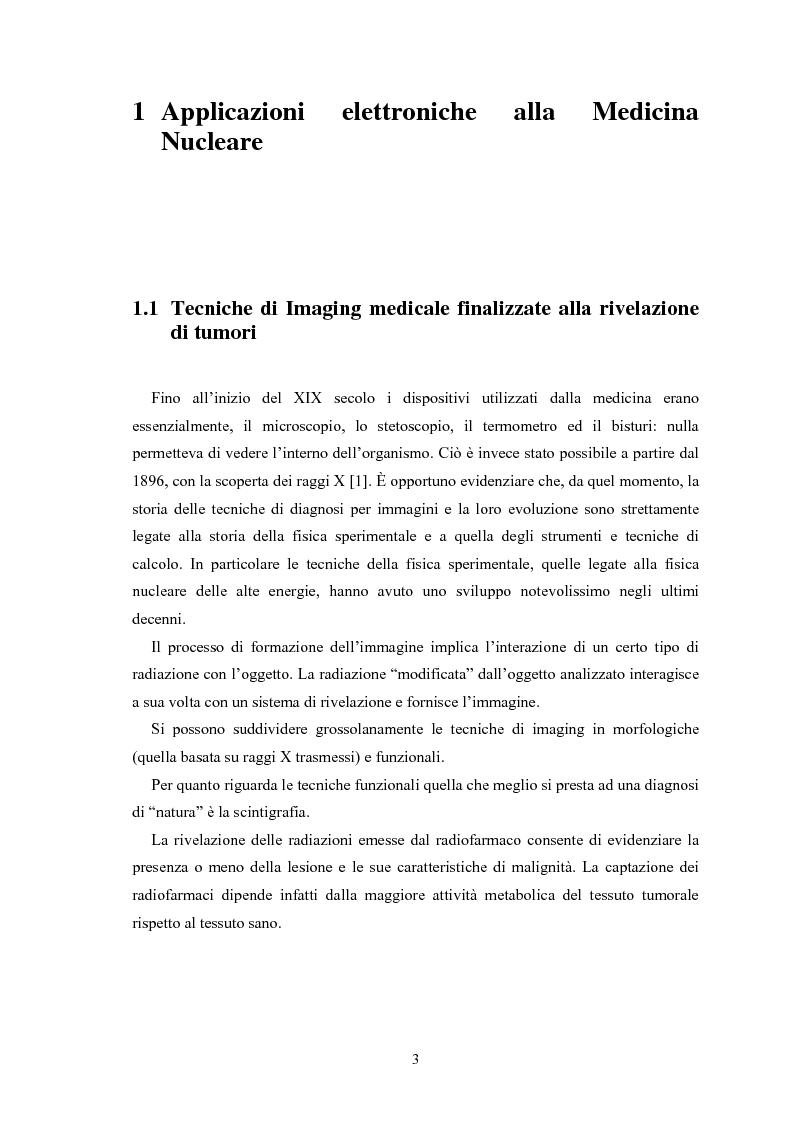Anteprima della tesi: Studio di rivelatori a conteggio di fotoni per applicazioni medicali, Pagina 3