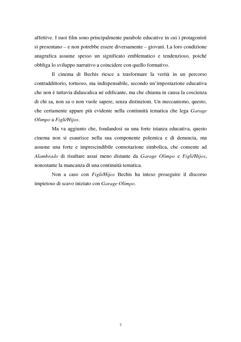 Anteprima della tesi: Realismo cinematografico e documentazione storica. Un caso esemplare: Garage Olimpo, Pagina 5