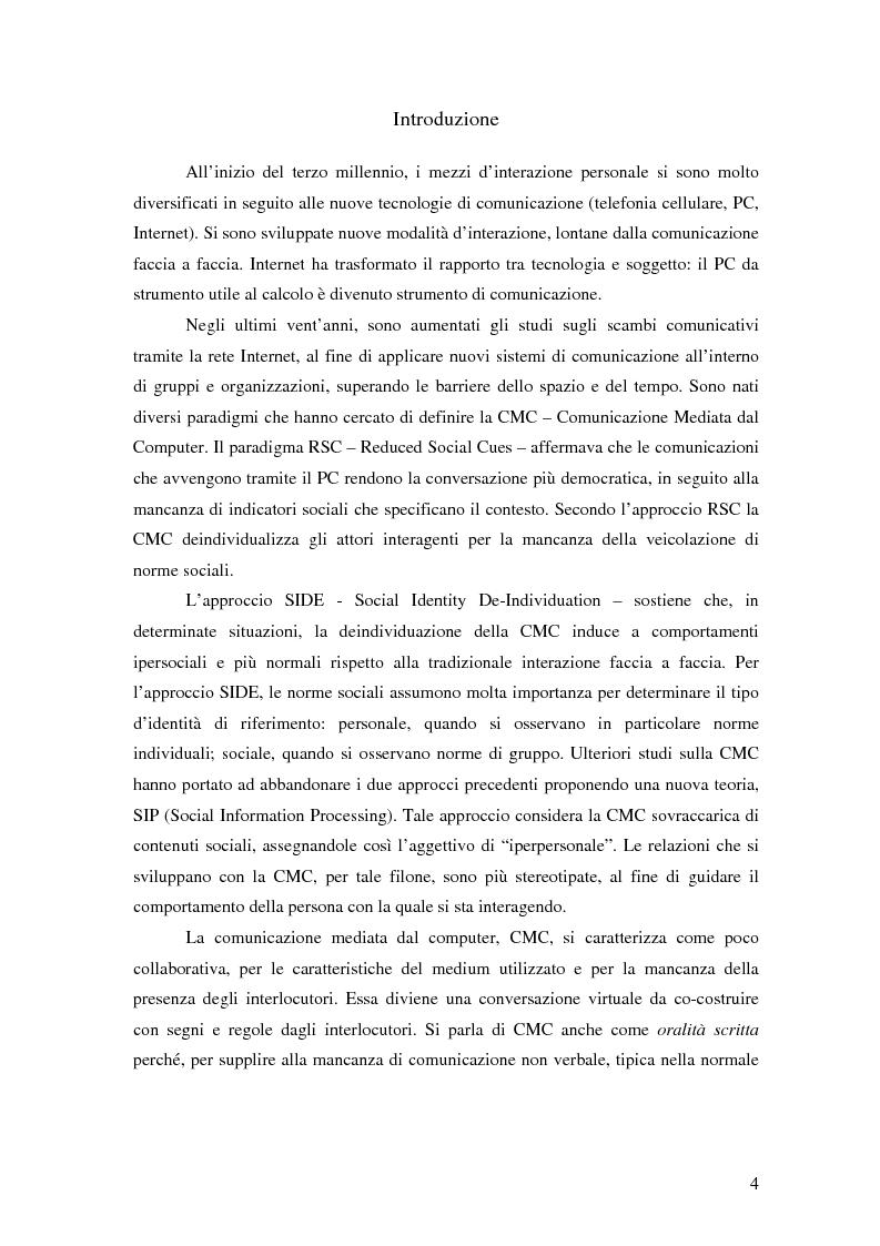 Anteprima della tesi: Nuove tecnologie e comunicazione organizzativa: il caso Bernie., Pagina 1