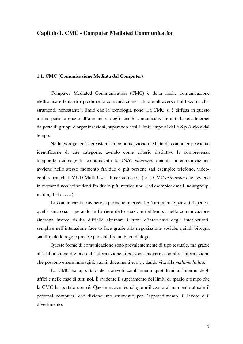 Anteprima della tesi: Nuove tecnologie e comunicazione organizzativa: il caso Bernie., Pagina 4