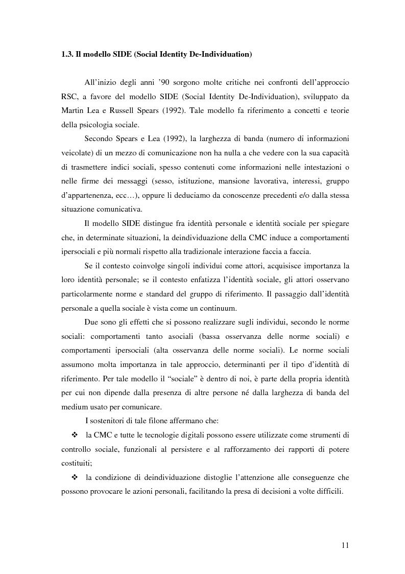 Anteprima della tesi: Nuove tecnologie e comunicazione organizzativa: il caso Bernie., Pagina 8