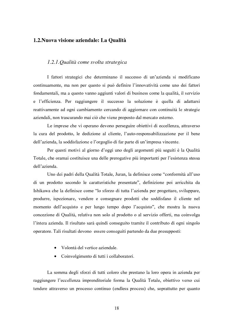 Anteprima della tesi: Gestione della Qualità in ambito scolastico, Pagina 15
