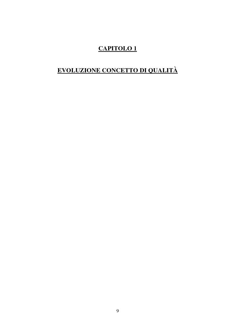 Anteprima della tesi: Gestione della Qualità in ambito scolastico, Pagina 6