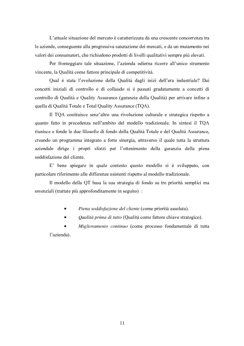 Anteprima della tesi: Gestione della Qualità in ambito scolastico, Pagina 8