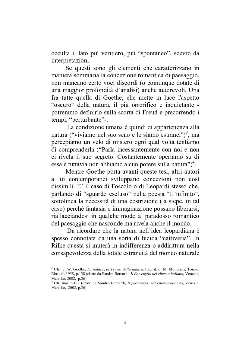Anteprima della tesi: Il paesaggio diverso nel cinema italiano degli anni novanta. Prospettive, regionalismi e differenti visioni, Pagina 6