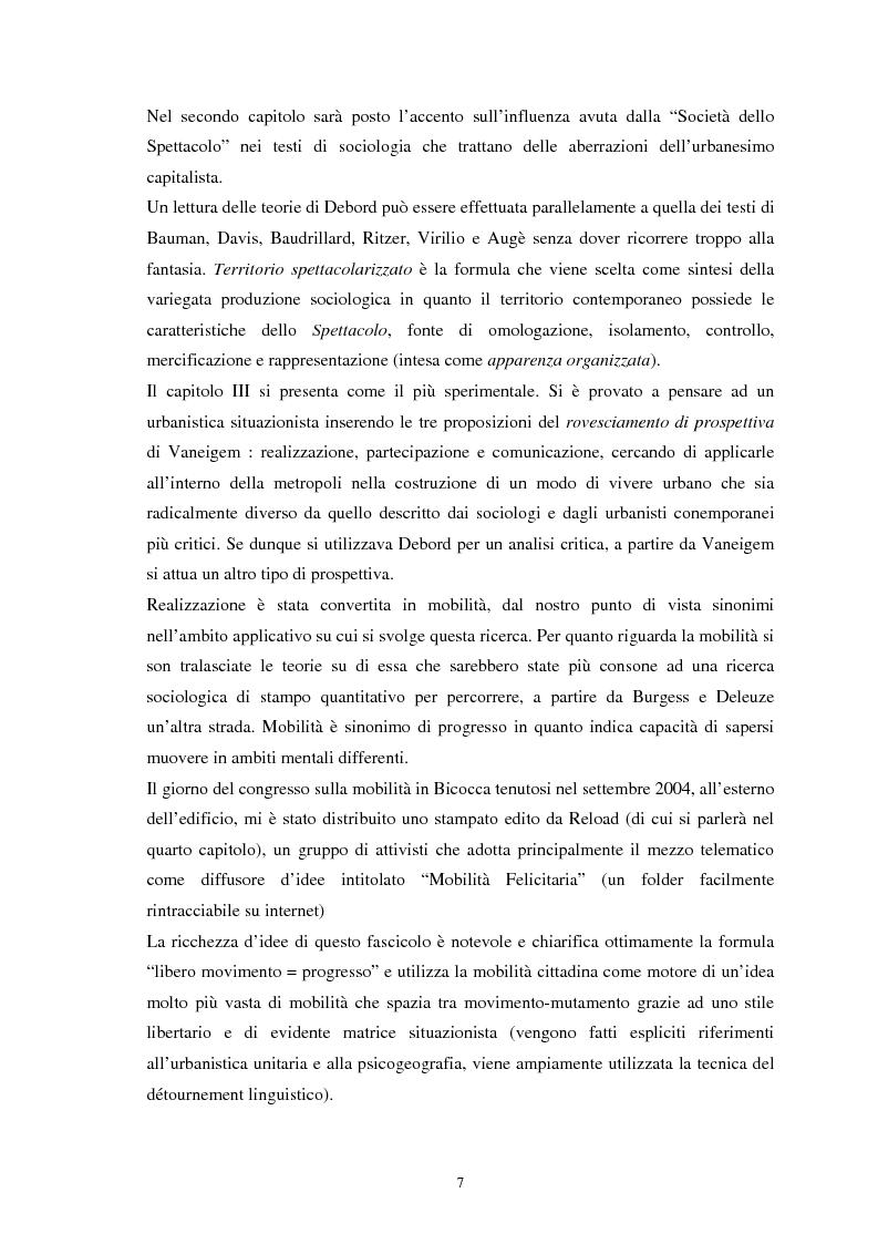 Anteprima della tesi: Situazionismo e critica urbana: esperienze di partecipazione sociale sul territorio, Pagina 3
