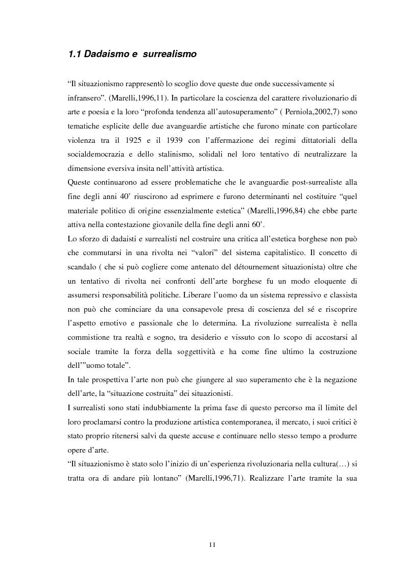 Anteprima della tesi: Situazionismo e critica urbana: esperienze di partecipazione sociale sul territorio, Pagina 7