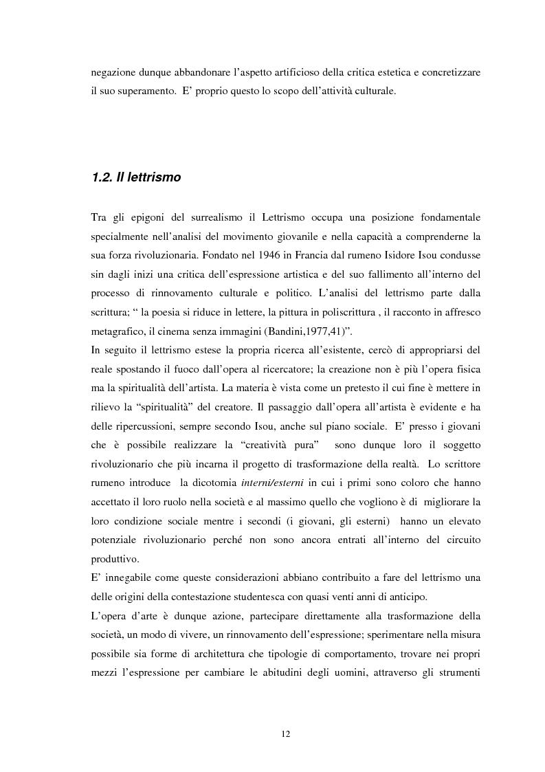 Anteprima della tesi: Situazionismo e critica urbana: esperienze di partecipazione sociale sul territorio, Pagina 8