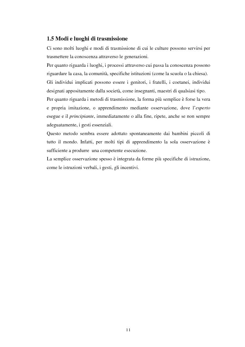Anteprima della tesi: Emozioni e cultura nelle idee di insegnanti di scuola materna italiane e spagnole, Pagina 11