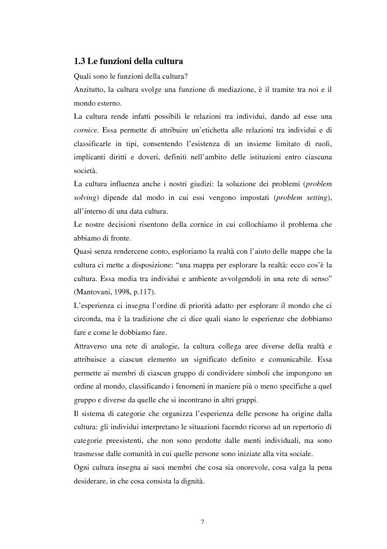 Anteprima della tesi: Emozioni e cultura nelle idee di insegnanti di scuola materna italiane e spagnole, Pagina 7