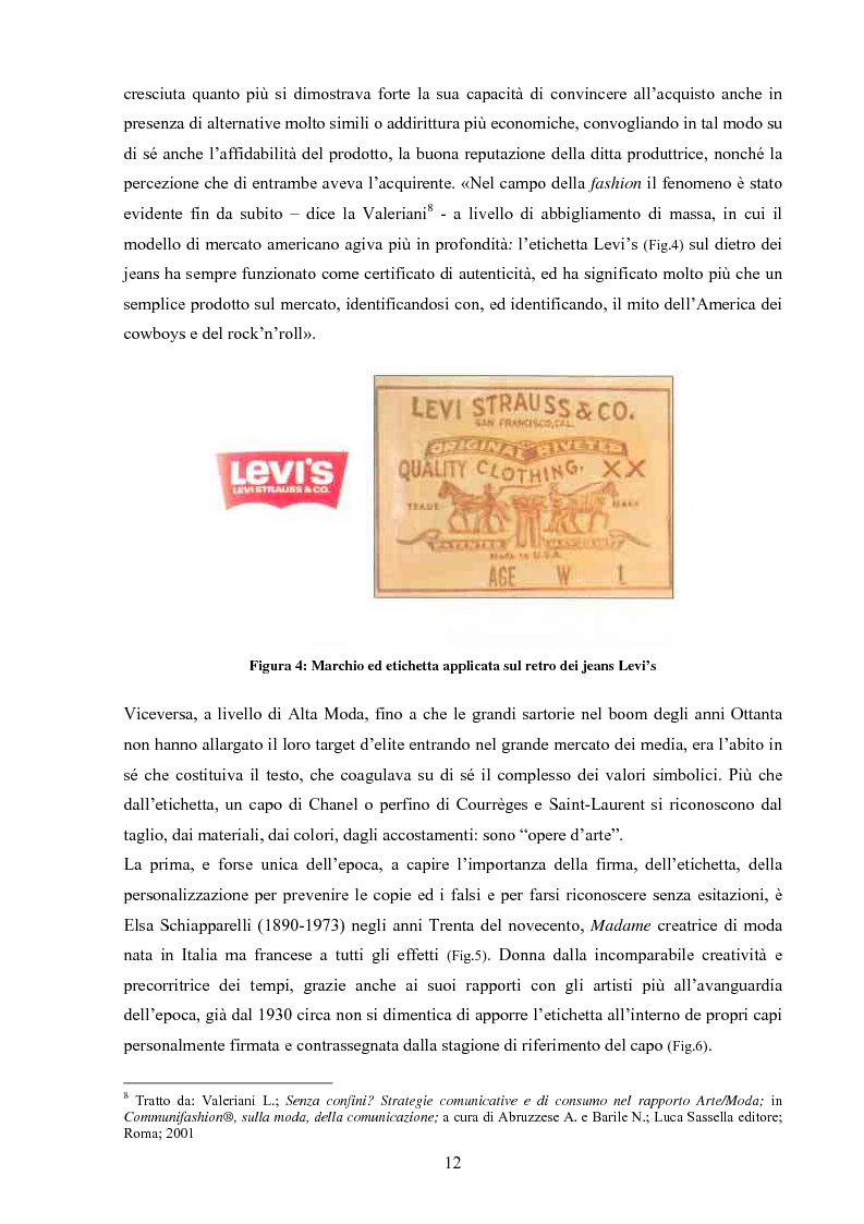 Anteprima della tesi: Moda tra immagine ed identità, Pagina 11