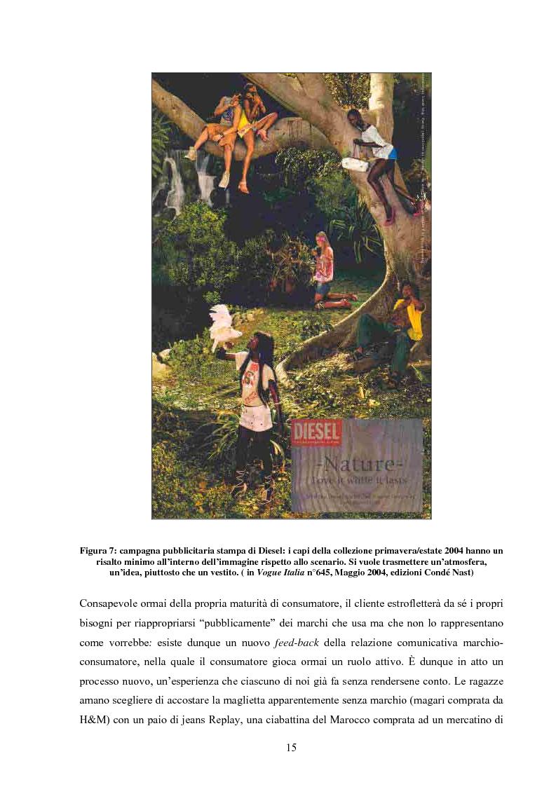 Anteprima della tesi: Moda tra immagine ed identità, Pagina 14