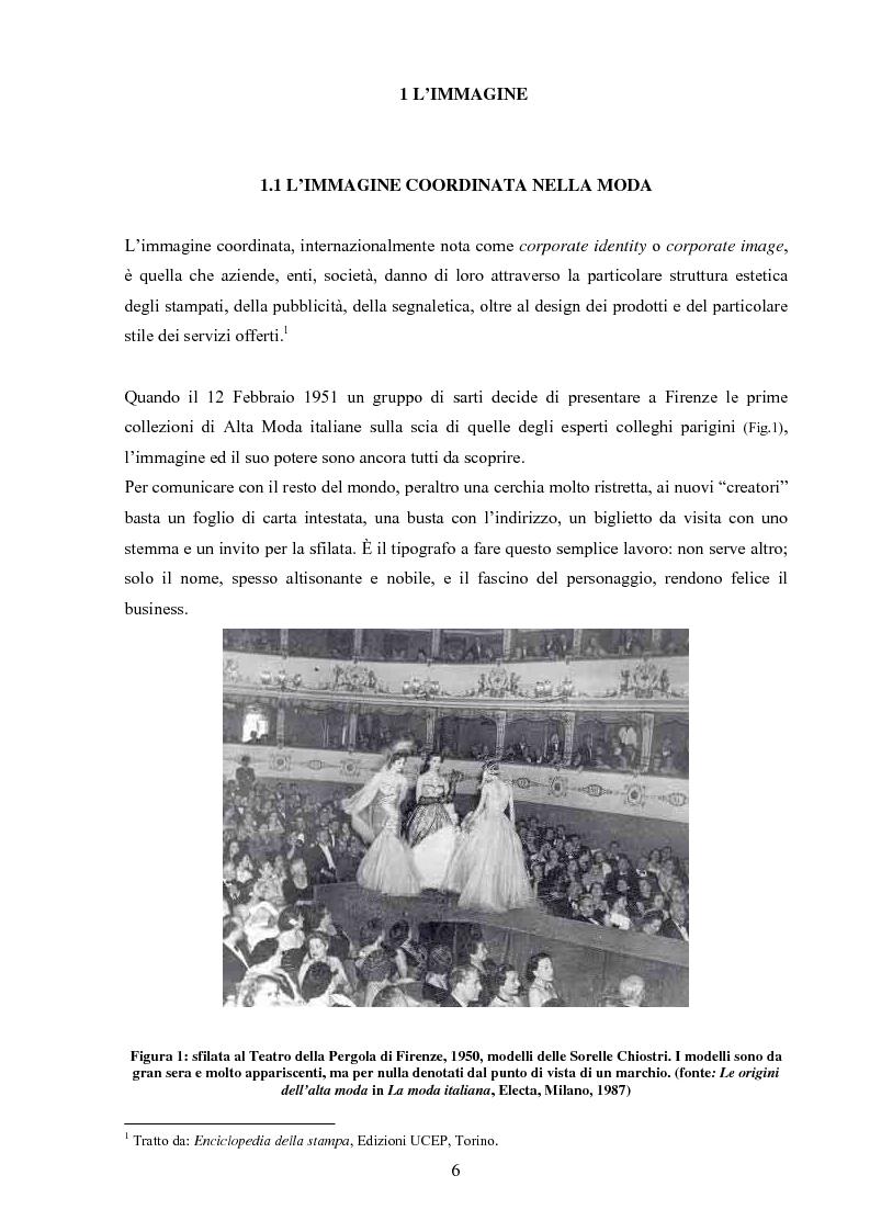 Anteprima della tesi: Moda tra immagine ed identità, Pagina 5