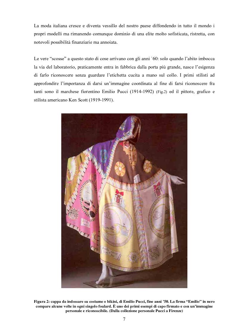 Anteprima della tesi: Moda tra immagine ed identità, Pagina 6