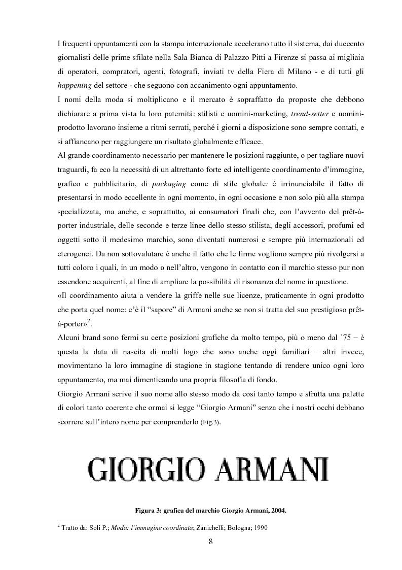 Anteprima della tesi: Moda tra immagine ed identità, Pagina 7