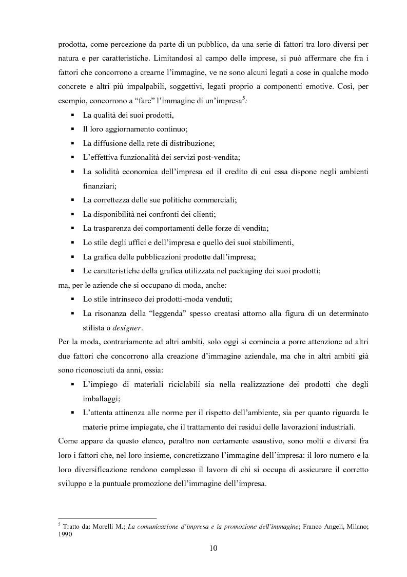 Anteprima della tesi: Moda tra immagine ed identità, Pagina 9