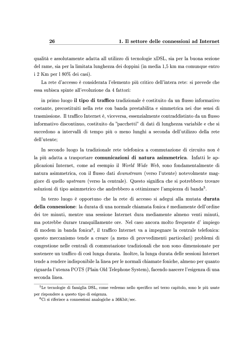 Anteprima della tesi: Le Strategie competitive degli ISP nel BroadBand nella fase di consolidamento del mercato. Un'analisi di scenario, Pagina 15
