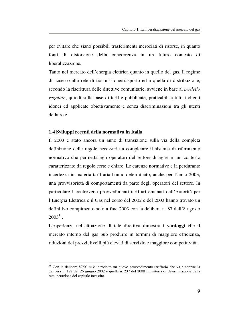 Anteprima della tesi: Analisi strategica di un ente di public utilities: Il caso Italgas Più, Pagina 12