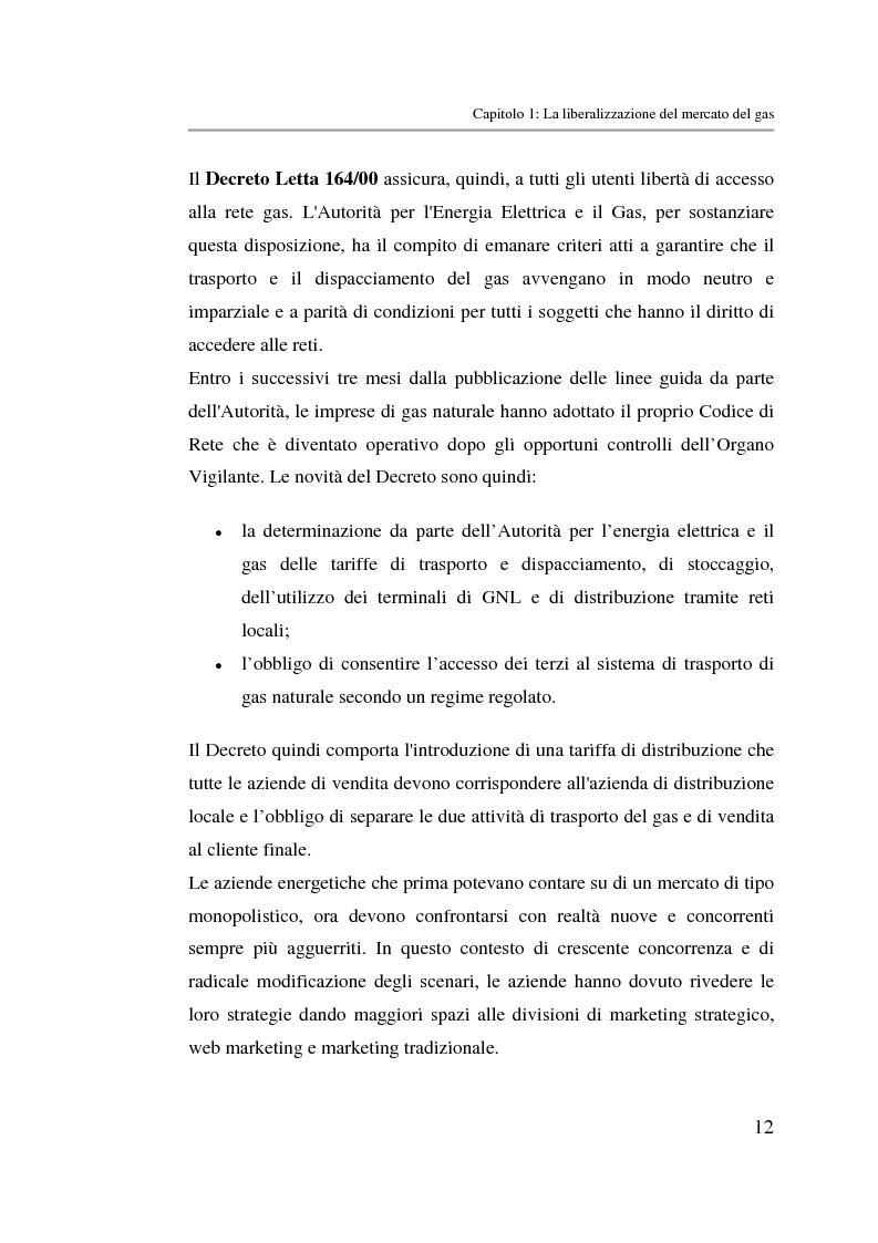 Anteprima della tesi: Analisi strategica di un ente di public utilities: Il caso Italgas Più, Pagina 15