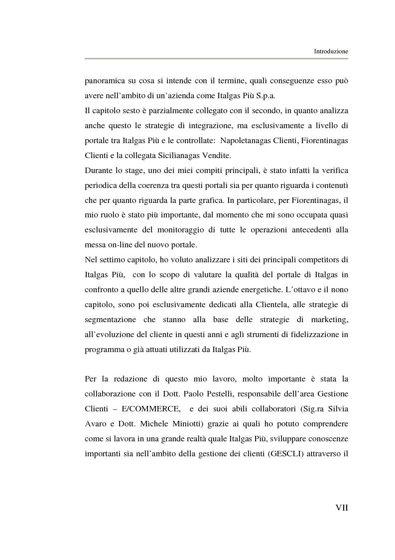 Anteprima della tesi: Analisi strategica di un ente di public utilities: Il caso Italgas Più, Pagina 2