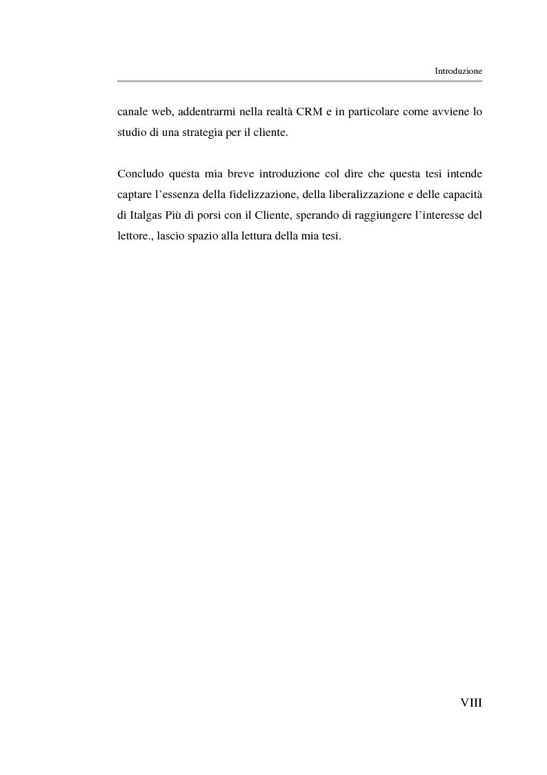 Anteprima della tesi: Analisi strategica di un ente di public utilities: Il caso Italgas Più, Pagina 3