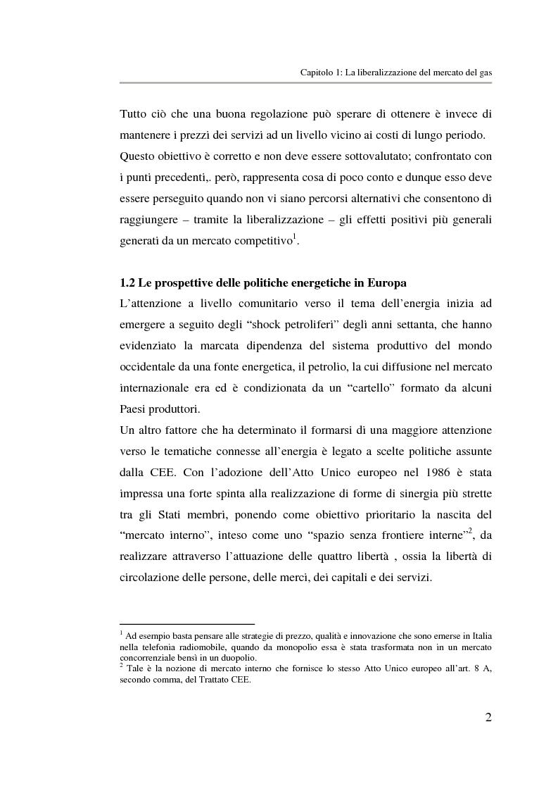 Anteprima della tesi: Analisi strategica di un ente di public utilities: Il caso Italgas Più, Pagina 5