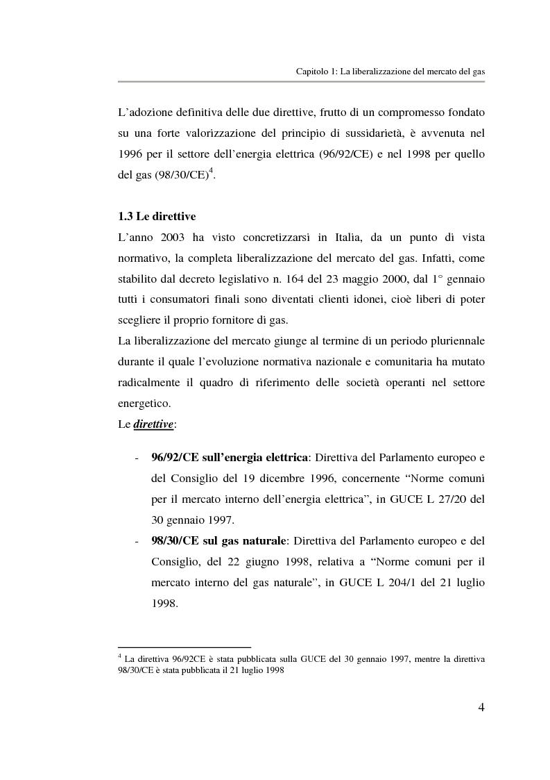 Anteprima della tesi: Analisi strategica di un ente di public utilities: Il caso Italgas Più, Pagina 7